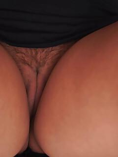 Upskirt Hairy Pussy Pics